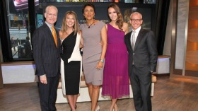 """Oscar's Red Carpet Live"" Hosts Visit ""Good Morning America"""