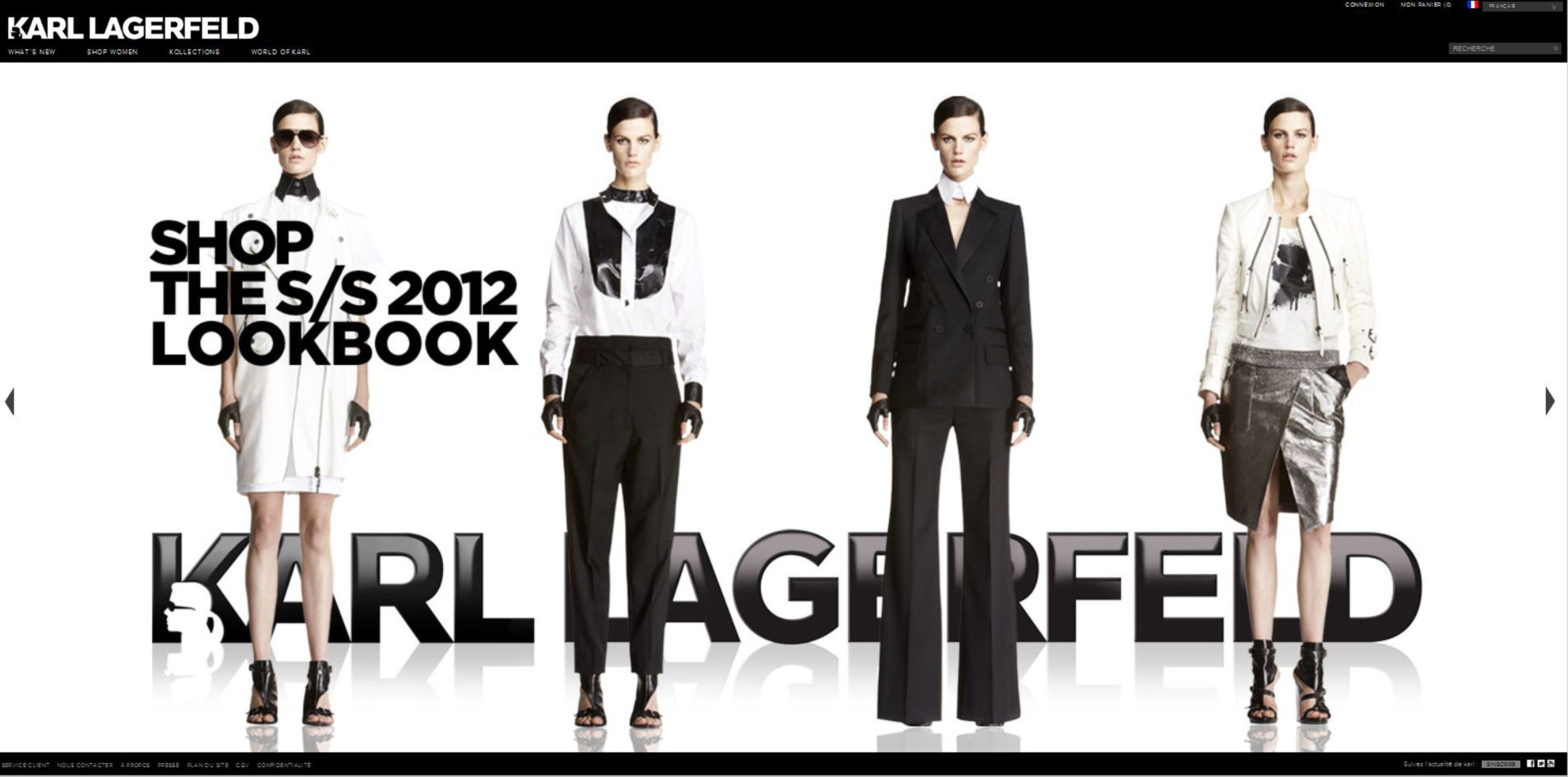 karl lagerfeld fashion house. Black Bedroom Furniture Sets. Home Design Ideas