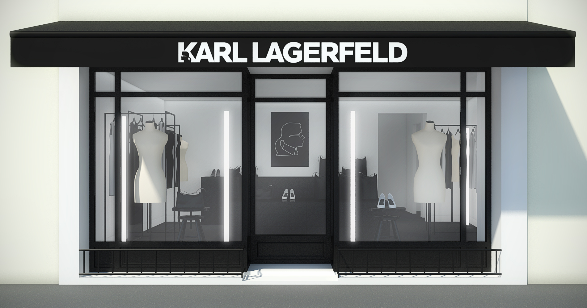 karl lagerfeld will spend the summer in st tropez. Black Bedroom Furniture Sets. Home Design Ideas