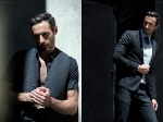 LEFT shirt	 Dsquared2 / vest Won Ki Lee RIGHT full look Calvin Klein Collections