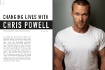 Chris Powel for Bello Mag Fall Fashion Issue