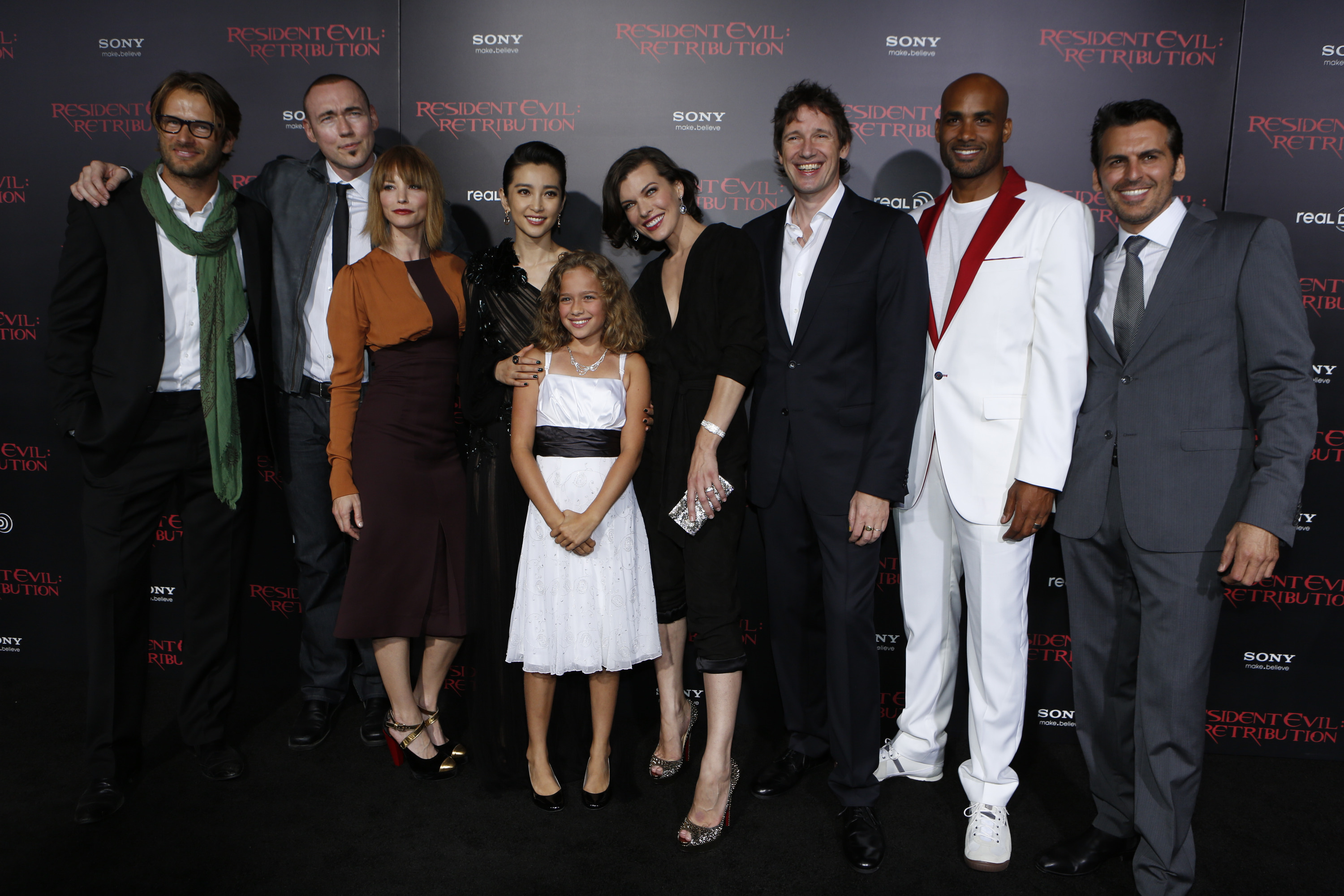 Resident Evil Retribution The L A Premiere Shawn Robers For