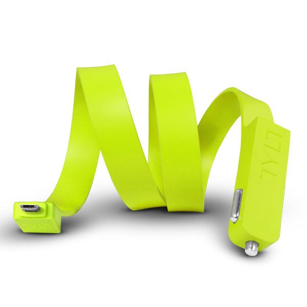 band-micro-usb-green