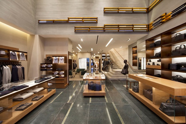 Store entrance_press