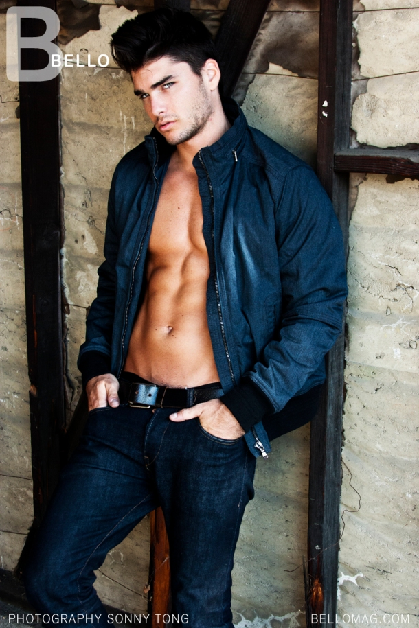 Picture About Male Model Charlie Matthews Shot by Sonny Tong in LA
