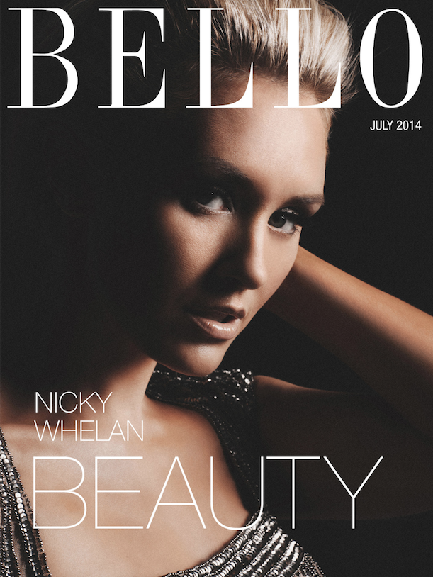 Nicky Whelan Blonde Ambition For Bello Mag Beauty Bello